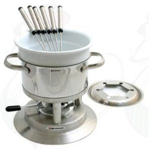 Swissmar Arosa Stainless Steel fondue-set