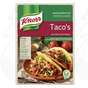 Knorr Wereldgerechten Mexicaanse Taco's Gevulde Tacoschelpen 287g