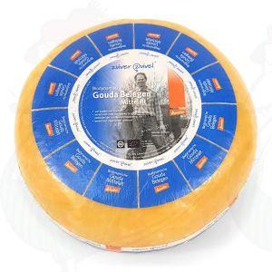 Matured Gouda Organic Biodynamic cheese - Demeter | Entire cheese 12 kilo / 26.4 lbs