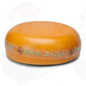20+ Farmhouse low-fat Cheese | Premium Quality | Entire cheese 10.5 kilo / 23.1 lbs