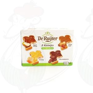 De Ruijter 8 tastes with apple, honey, peanut butter and chocolate spread