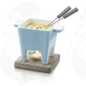 Boska Chocolate Fondue set - Cheese fondue set Tapas Blue - 200 grams