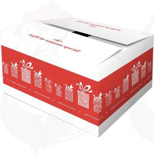 Shipping Box - Gift Box Surprise Red