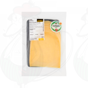 Sliced cheese Wapenaer Young 48+ | 230 grams in slices