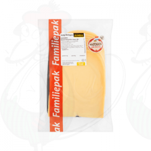 Sliced cheese Wapenaer Semi-Matured 48+ | 350 grams in slices
