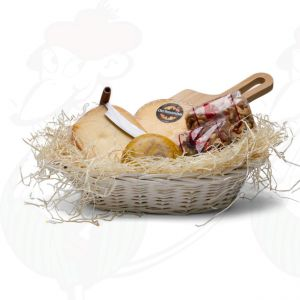 Modern deliciously filled hamper