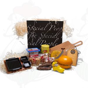 Delicious tapas gift package - black