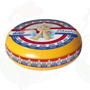 Frau Antje Pikantje - Gouda Cheese   Premium Quality   Entire cheese 12 kilos / 26.4 lbs