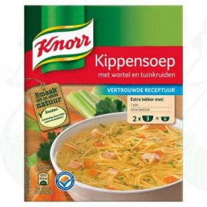 Knorr Mix Kippensoep 2 Porties 2 x 36g