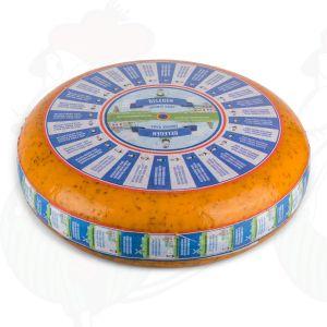 Matured Cumin Gouda Cheese | Premium Quality | Entire cheese 11 kilo / 24.2 lbs