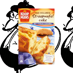 Koopmans Oud-Hollandse Stroopwafel Cake 400g
