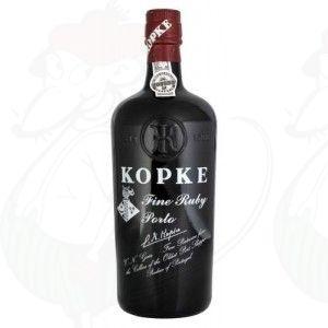 Port Kopke Fine Ruby porto. - 0,75 liter
