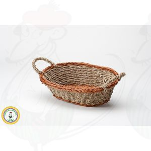 Cheese Basket Braun 26x18x8