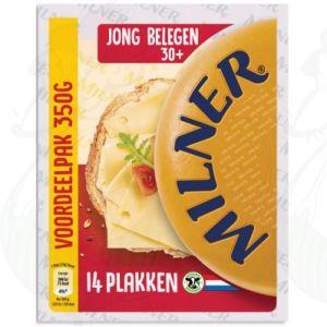 Sliced Milner Cheese Semi-matured 30+ | 350 grams in slices