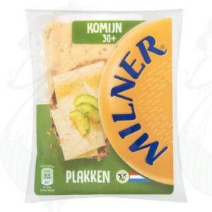 Sliced Milner Cheese Cumin 30+ | 175 grams in slices