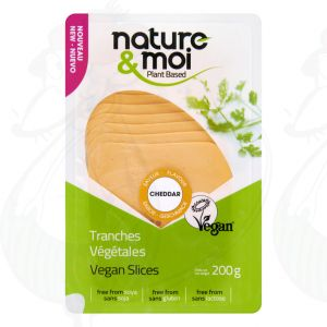 Nature & Moi Chedddar slices 200gr