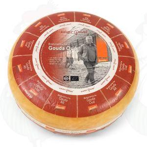 Old Gouda Organic Biodynamic cheese - Demeter | Entire cheese 10 kilo / 22 lbs