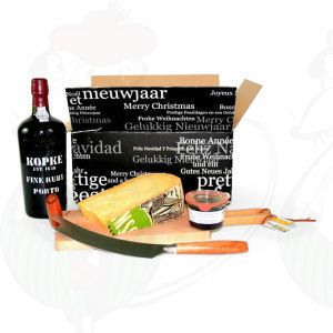 Port Gift with extra quality Rotterdam Old Cheese