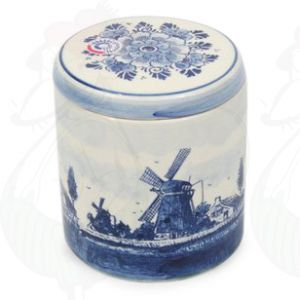 Stock pot Delft Blue Landscape