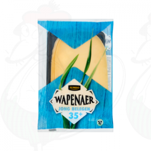 Sliced cheese Wapenaer Semi Matured 35+ | 230 grams in slices