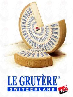 Gruyère Cheese - Swiss